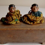Twins Figures w/Home  SOLD